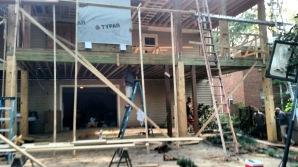 Exterior balcony rebuild